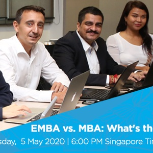 Webinar | EMBA vs. MBA: What's the Difference?