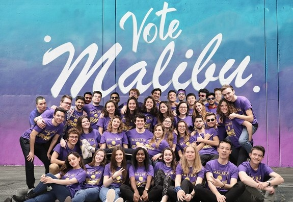 Digital Campus Life Project :  ESSEC BDE Malibu keeps in touch